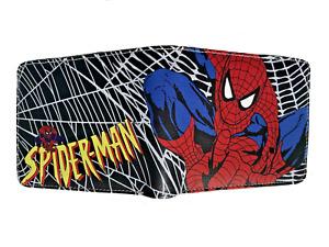 MARVEL Spiderman Wallet Purse Mens Kids Comics Superhero Movie Gaming Anime AUS