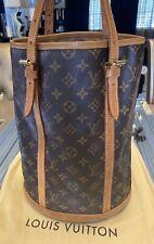 Louis Vuitton Shoulder Bag Bucket XL Monogram Grand GM