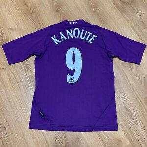 Tottenham Hotspur 2003/2004 Third Football Shirt Jersey Kanoute #9 Size S Adult