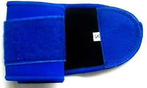 NEOPRENE WRIST ANKLE SUPPORT  FOR MUSCLES LIGAMENTS SUPPORT OR INJURY BLUE  NEW