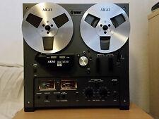 AKAI GX-215D 215 D Tonbandgerät Tonband Bandmaschine Schwarz Black Autoreverse