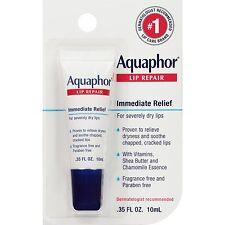 Aquaphor - Aquaphor Immediate Lip Repair Balm. .35mL Tube, New!