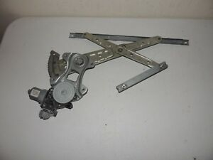 2011 - 2013 NISSAN QUEST VAN  WINDOW REGULATOR AND MOTOR USED OEM RIGHT REAR