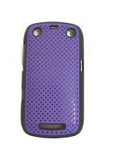 Blackberry Curve 9350 9360 9370 duro caso piel cubierta de Soporte del Parachoques Fascia púrpura