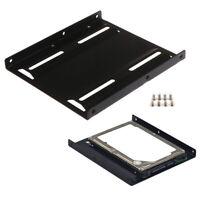 Metal Hard Disk Bracket SSD Mounting Bracket 2.5  to 3.5-inch Drive Adapter EP
