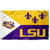 Louisiana State LSU Tigers Acadian Flag Large 3x5