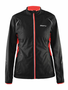 Craft Prime Women's Black Cycling Running Jacket Size UK X-Small - 8