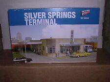 WALTHERS #2934  Silver Springs Bus Terminal - Building Kit  H.O.Gauge