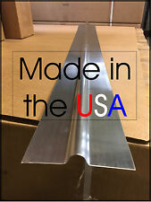"100 - 4' Aluminum Radiant Floor Heat Transfer Plates for 1/2"" PEX Tubing"