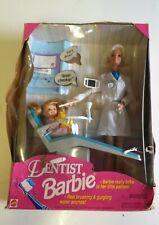 1997 Dentist Barbie Doll still in distressed Box