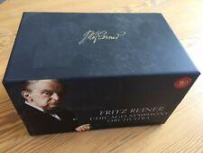 63cd box rca 8883701982 fritz reiner complete chicago symphonies ex+/nm 2.5 kilo