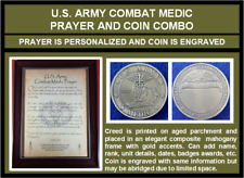 Mc-Better: Personalized Combat Medic Prayer And Engraved Medic Coin