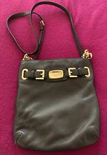 NWOT Authentic Michael Kors Pebbled Leather Hamilton Crossbody Bag Black