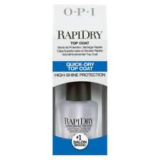 OPI Rapidry Nail Treatment Rapid Dry Top Coat 0.5oz/15ml High Gloss Non Yellow