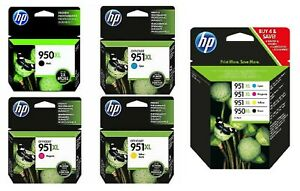 GENUINE HP950XL / HP951XL INK CARTRIDGES, CHOOSE FROM LOT - SWIFTLY POSTED