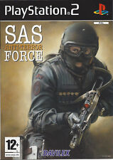 SAS ANTI-TERROR FORCE for Playstation 2 PS2 - with box & manual - PAL