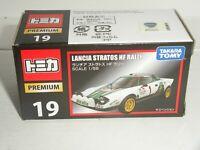 TOMY Takara Premium 1:55 Lancia Stratos HF Rally Alitalia - NEW