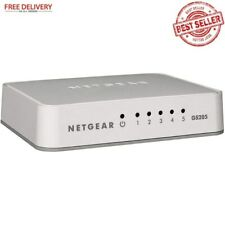 5 Port Gigabit Ethernet Desktop Network Switch Hub Internet Splitter Gs205 100u