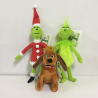 1/3x How the Grinch Stole Christmas Stuffed Plush Doll Kids Toy Grinch Xmas Gift