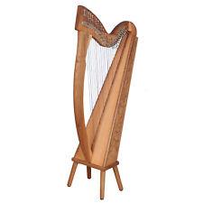 27 Saiten Trinity Walnuss Harfe, 27 Strings Celtic Irish Harp,  Irish lever Harp