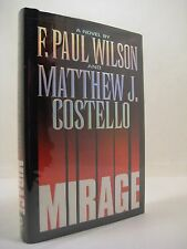 Mirage by F. Paul Wilson and Matthew J. Costello (1996, Hardcover) 1st Printing