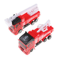 Pull Back Fire Truck Pretend Play Water Tanker Model Toy Kids Educational Toy HU