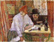 Toulouse-Lautrec-À la Miè Ed. 300 ud Firma impresa. Num. a lapiz. Certif. Edicio