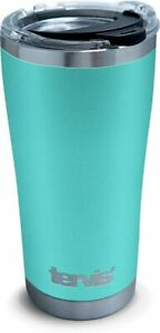 Tervis Powder Coated Stainless Steel Insulated Tumbler, 20oz, Seafoam []