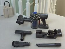 Dyson V6 Car Vac Cordless Vacuum Cleaner & Tools CLEANED & NEW BATTERY #87