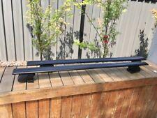 2x BLACK new roof rack / cross bar for Hyundai Santa fe 2012-2021 to flush rail