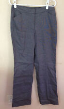 New NWT Talbot's Heritage Gray Pants Slacks Cotton 6 Women
