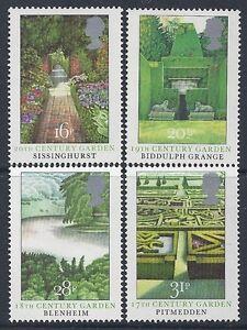 1983 GB BRITISH GARDENS SET OF 4 FINE MINT MNH/MUH SG1223-SG1226