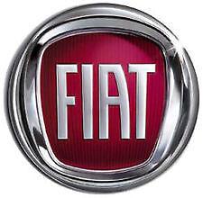 Fregio posteriore Fiat  stemma portellone logo rosso 85 mm
