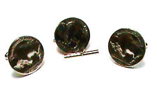Indian Head Nickel Buffalo Side Made into cuff links and Tie Tac