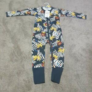 Bonds Disney The Lion King Zippy Black edition Wondersuit Size 2 jumpsuit BNWT