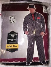 Mob Boss Gangster Adult Plus Size Costume