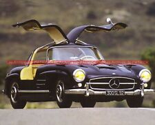 MERCEDES 300 SL 1954 Fiche Auto #008996