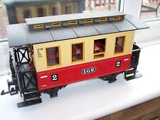 LGB G SCALE MODEL RAILWAY RED PASSENGER COACH       (ROLLING STOCK)