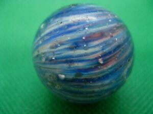 Anique German Onion Skin Hand Made Marble Nice!