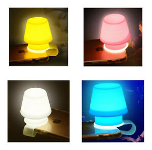 Smartphone Holder Light Flashlight Lampshade Clip on Phone Flash LED light