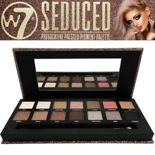 W7 Cosmetic Seduced Provocative Pressed Powder Pigment Eye Shadow Palette Makeup