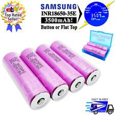 3500mAh 18650 Rechargeable Battery - High Drain Samsung 35E - Flashlight, Mods