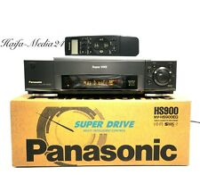 Panasonic NV-HS900 HighEnd S-VHS Videorecorder / SVHS Recorder OVP 1 J. Gewähr.