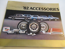 1982 Chrysler & Plymouth Accessories Sales Brochure