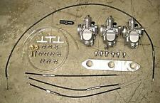 Triumph Trident carb replacement kit set fuel line cables manifold T150 T160