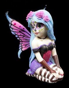 Elfen Figur Azula - Sugar Skull Fairy - Nemesis Now Gothic Fee Elfenstatue Deko