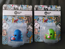 Unbox Industries & Friends Vinyl Figure Green and Blue Baby Dino Exclusive Set