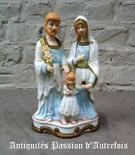 B2018237 - Sainte famille en biscuit de porcelaine - 1950-70 - Très bon état