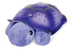 Cloud-b Twilight Turtle Schildkröte Lila Sternenhimmel Nachtlicht Einschlafhilfe