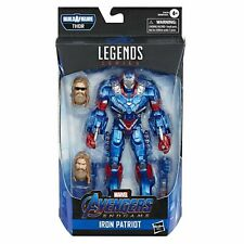 "IRON PATRIOT ( 6"" )( 2019 ) MARVEL LEGENDS ( AVENGERS ENDGAME ) ACTION FIGURE #1"